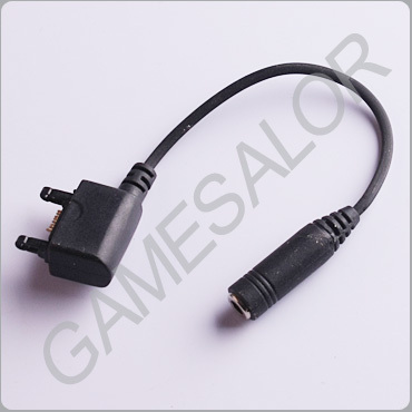 Free shipping 3.5mm Headphone Jack Adapter for Sony Ericsson #9981(China (Mainland))