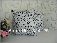 10pcs 45*45cm Free Shipping Fashion classical Fabric thickening leaf cushion cover pillow cases can use in car
