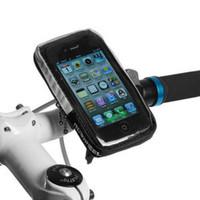 2014 Bicycle Cycling Bag Cell Phone Mountain Bike Handlebar Mobile Waterproof Pouch Bag Free Shipping