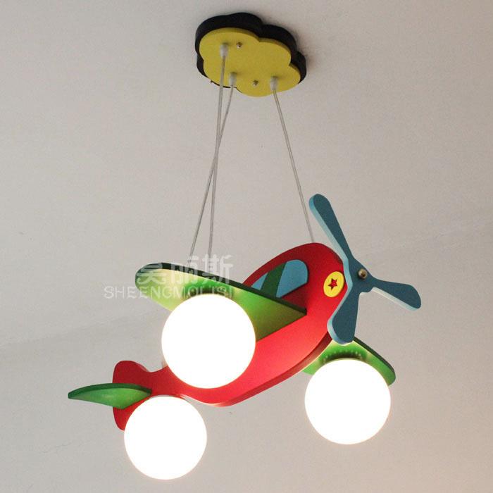 Детская люстра-самолет своими руками