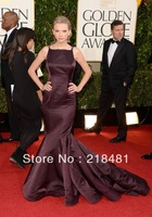 Ask-19 2013 the 70th golden globe awards Taylor Swift drapped layers mermaid celebrity dresses
