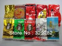 10 Different Flavors Oolong Tea,Milk oolong tea,Ginseng oolong,TiKuanYin ,DaHongPao,Puer tea +Free gift,Free shipping