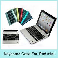 Navy Go Pro wireless bluetooth keyboard case mini pc keyboard aluminum case keyboard for iPad Mini