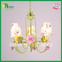 Free Shiping E14*3 Lighting Modern Wrought Iron Lighting Chandelier Lamp for living room, dinner room,  bedroom& study room