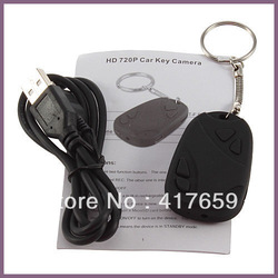 Brand NewHigh QualityMini HD 720P DVR 808 Car Key Chain Micro hidden Camera video recorder Real Pocket Camcorder free shipping(China (Mainland))