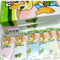 Children socks baby socks spring and summer socks 100% cotton socks male child socks female child socks 6 double