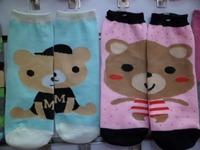 Socks Women knee-high cartoon socks ab socks polyester cotton socks 6 double