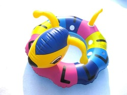 free shipping Cartoon ant swimming ring thickening reinforcement rubber bunts advanced child swim ring(China (Mainland))
