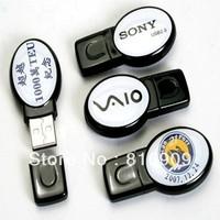 Free Shipping 100% Real Capacity Logo Printing Novelty USB Drive Flash Memory