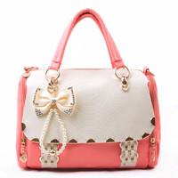 2013 spring women's bag vintage bags bow handbag messenger bag best selling hit hot product new arrival fashion designer item