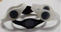 Black Hologram PB Band Silicone Bracelet Energy pb Wristband With Box