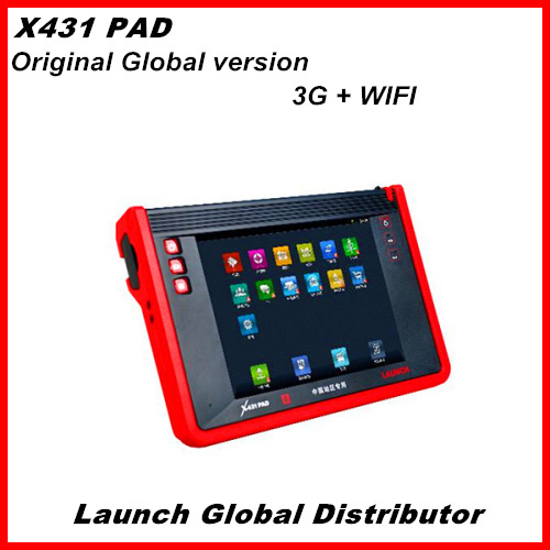 2013 Top rated New designed 100% original Launch X-431 PAD Auto scanner with WIFI/3G DHL Free Shipping Free Update(China (Mainland))