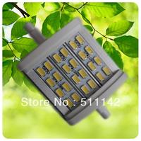 New 8W R7S SMD5630 LED high power high lumen 640~700lm Warm White/Nature White/Cold White AC 85~265V 50pcs/lot cheap price