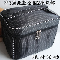 Free shipping Large capacity bodan women's folding cosmetic bag portable cosmetics women's handbag