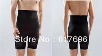 Men's High Waist Body Shaper Slimming Body Sculpting Bodybuilding Male Hot-pants