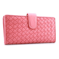 Fashion brief 2013 women's hasp wallet long design knitted women's day clutch wallet