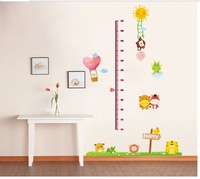 removable 3d wall decal baby kid's tall height measuring wall sticker chirldren's room wall decoration