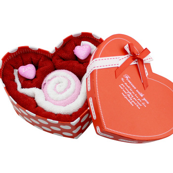 Birthday gift cake towel valentine day gifts girls