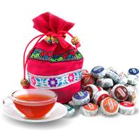 Do promotion!Mini Tuo Cha 10 taste 50 tea ripe tea raw tea Free Shipping