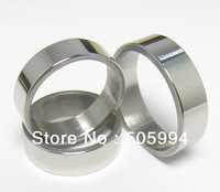 Wholesale 100pcs 6MM Flat Stainless Steel Rings, Free Shipping GJ004