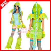 Halloween clothes female animal cos ds costume fashion