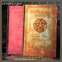 factory sale Classical fashion gothic david classic vintage hardcover notebook free shipping