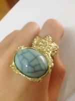 fashion accessories vintage multi-color classic vintage gem ring finger for women