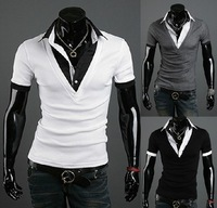 2013 New Men's Short  shirt, T-shirt, Cultivate One's Morality T-shirt, Men's Summer Shirt, Free Shipping