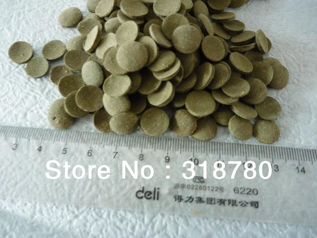 240g Algae Wafers Discs Veggie Fish Food Fresh/ Salt Water Plecos Catfish Food(China (Mainland))