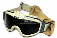 Edition ess super electronic fan anti-fog goggles tan sand