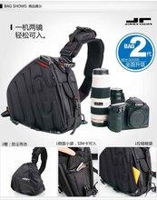 JIMMY RACING CA628BK Waterproof Nylon Professional Camera Backpack - Camera Bag Shoulder Bag Chest Bags Backpacks(China (Mainland))