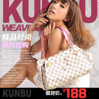Kunbu2013 fashion all-match fashion female bags one shoulder handbag