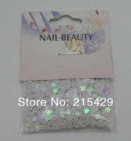 free shipping flower design 100cards Nail Glitter shapes Decoration for DIY beautiful nails