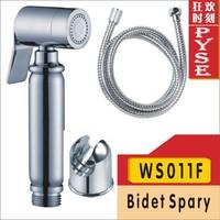 Free shipping WS011F brass chrome bidet bidet spray shattaf shattaf bidet spray