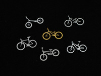 Free Shipping- Stan . ti titanium alloy bicycle shinnied bmx necklace lovers design
