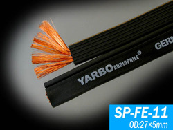 Yapolo yarbo sp-fe11 flat around the line speaker wire speaker cable(China (Mainland))