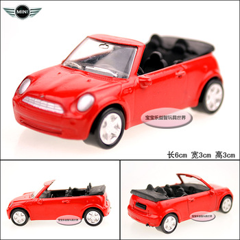 Mini mini red exquisite baby convertible alloy car model free air mail