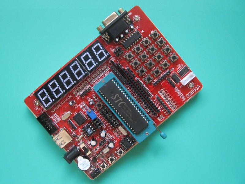 51 development board stc development board 51 microcontroller development board 51 reprogrammed(China (Mainland))