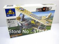 Enlighten Child F-1 Fighter 82001 KAZI military brick,building block sets,toy blocks plastic educational building free Shipping