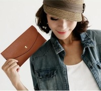 2013 Fashion bags candy color women's wallet bank card holder multi day clutches handbags