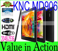 KNC MD906 9.7 inch Allwinner A31 Quad Core Tablet PC 2048x1536 IPS Screen Android 4.1 OS 2GB RAM 16GB ROM Dual Camera Ext.3G MID
