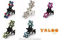 72pcs Fashion Bridal Flower Crystal Rhinestone Hair Claw Pin Wedding Party Hairwear 60236 -60240