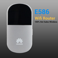 China Post Free shipping  new Huawei E586 3G pocket WiFi wireless router 21.6Mbps