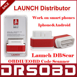 LAUNCH DBScar On Board Diagnostic System OBDII EOBD Code Reader DBS Car diagnostic to work with Android / iphone smart phones(China (Mainland))
