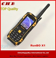(In Stock)New RUNBO X1 waterproof Keyboard single sim GSM/CDMA Quad band military walkie talkie rugged outdoor mobile phone