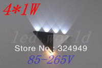 5W LED wall lamp,LED Corridor light,AC85~265V,triangle 5pcs/lot free sipping of hongkong Post Air Mail