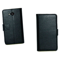 Lychee PU Wallet Case For Nokia Lumia 820 with stand
