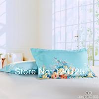 Free Shipping Fashion 100% Cotton Print Pillow Cover 48cmX74cm +5