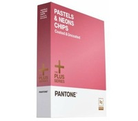 PANTONE PASTELS & NEONS CHIPS Coated & Uncoated free shipping GB1404