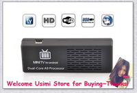 FACTORY MK808 Mini PC Android TV box 4.1 Dual-Core 1.6 GHz RAM 1GB ROM 8GB HDMI 1080P RK3066, With Retail Package